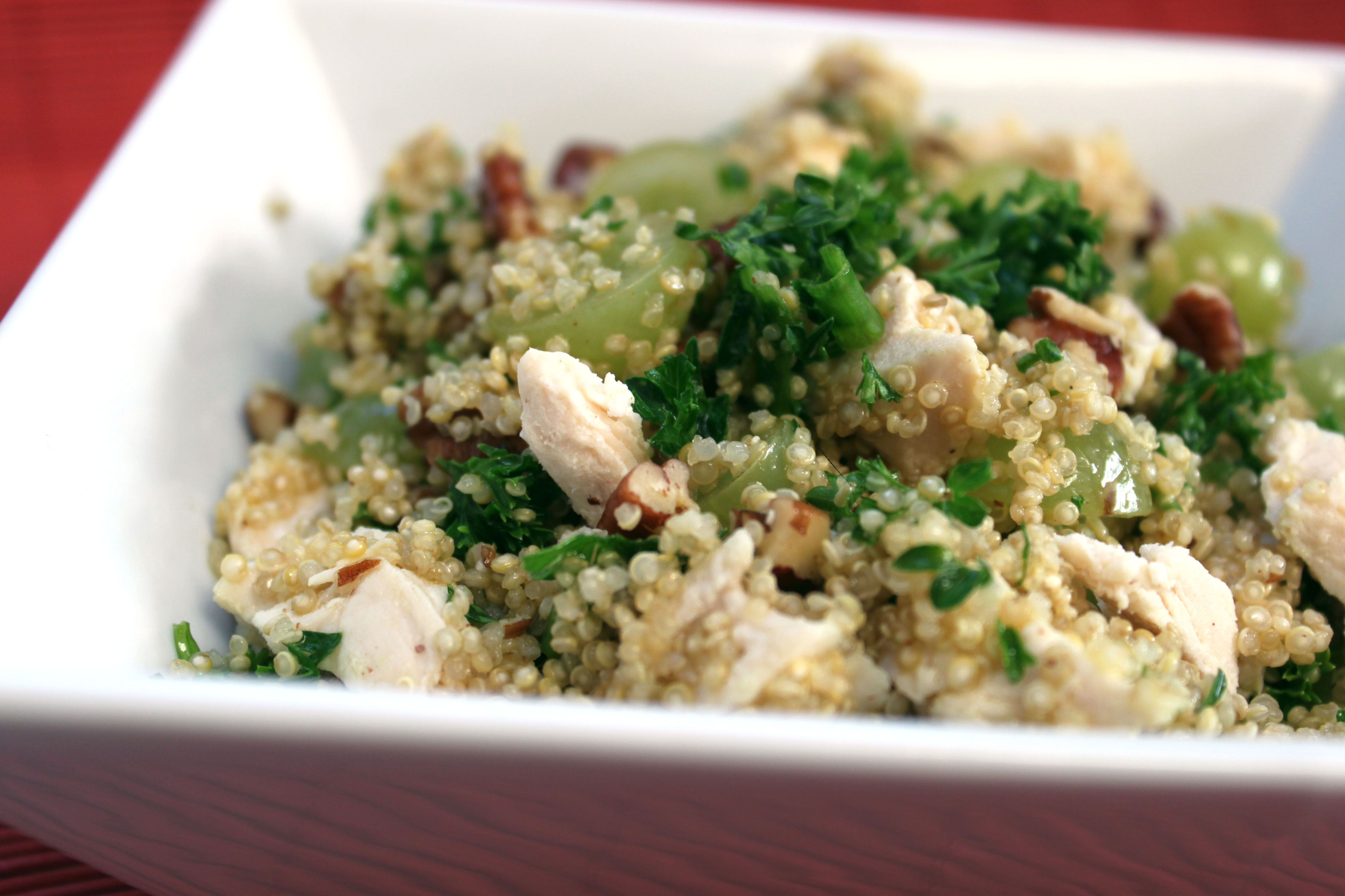 Healthy Chicken and Quinoa Salad - Kris M Beal | The Heart & Humor of ...