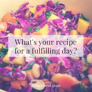 what's your recipe?